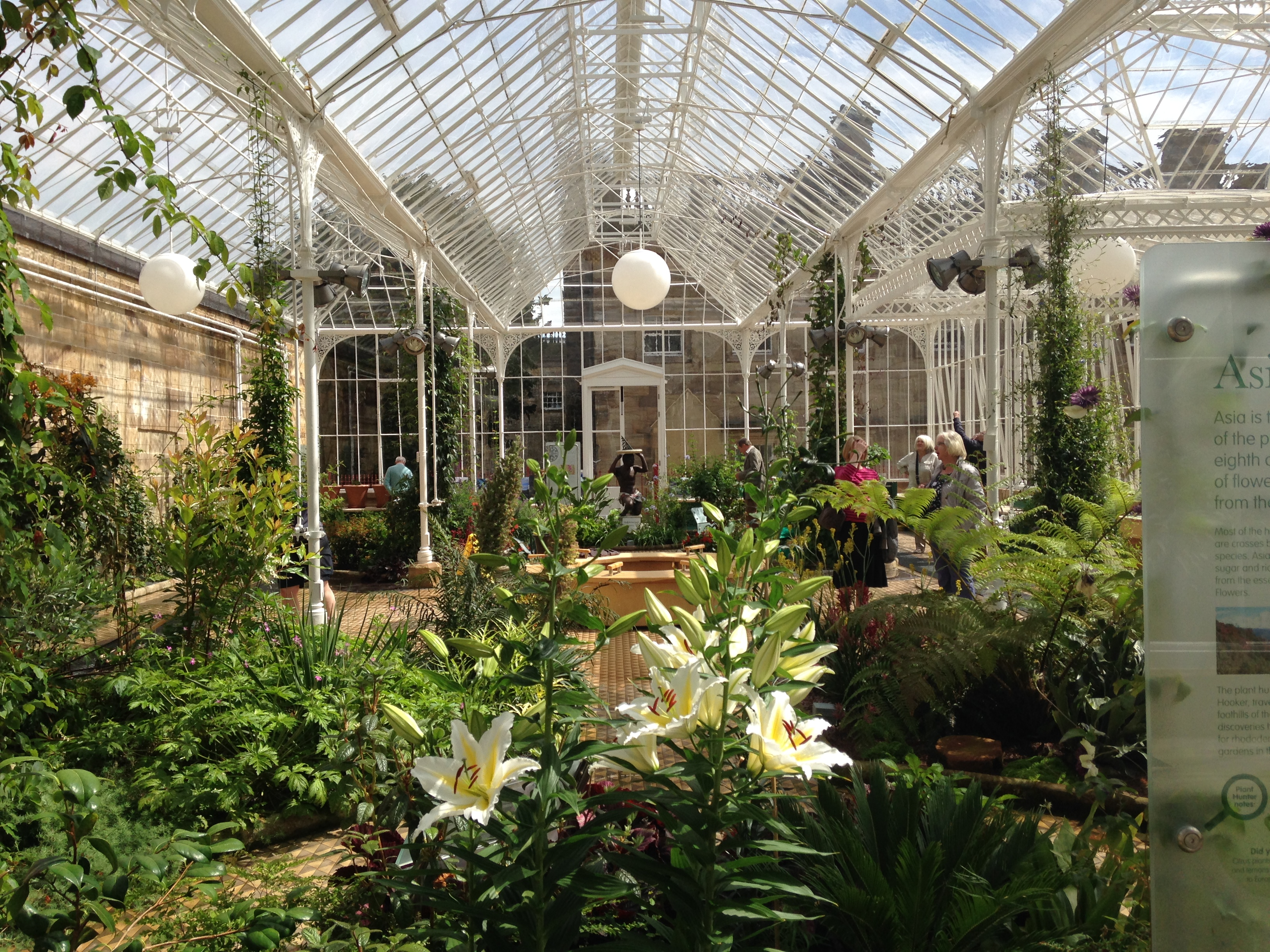 The Victorian Conservatory Wentworth Castle